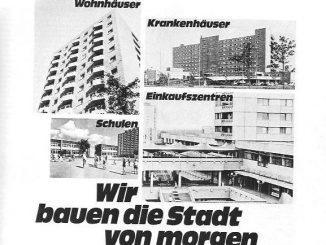 Ausschnitt aus einer Anzeige der Wohnungsbaugesellschaft Neue Heimat von 1969