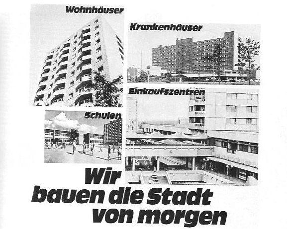 Anzeige 1969 Neue Heimat Lieber Besser Leben Slogans