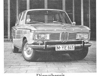 BMW positioniert den 2000 in dieser Anzeige von 1967 als das Fahrzeug der Erfolgreichen.
