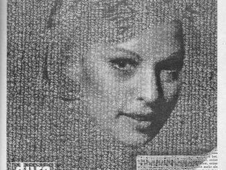 Die Dura Tufting aus Fulda bewirbt 1967 mit dieser Anzeige ihren dura teppichboden. Der Damenkopf wirkt wie eine Erscheinung auf dem seitenfüllenden Teppichbodenhintergrund. Die Leser können sich per Coupon Teppichbodenmuster und den großen Katalog zusenden lassen.