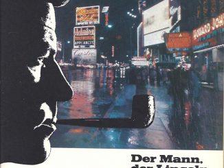 Der Mann, der Lincoln raucht, sei überall dabei - verspricht diese Anzeige für Lincoln Pfeifentabak aus dem Jahr 1967. Das Foto zeigt einen Sehnsuchtsort, den regennassen Times Square in New York. Der Regen ist vielleicht nicht unbedingt erstrebenswert, aber die Leuchtreklame wirkt so einfach besser, wenn sie sich auf der Straße spiegelt.