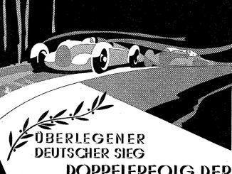 Beitragsbild für Anzeige von 1934 der Auto-Union