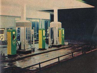 BP-Werbung von 1952