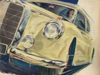 Mercedes-Benz Anzeige von 1952
